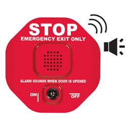 STI Wireless Exit Door Alarm Range