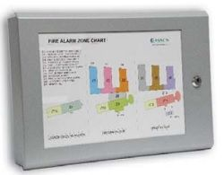 Fire Alarm Document Box With Zone Plan Window